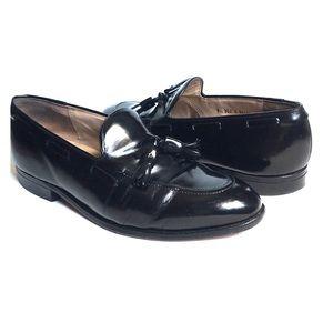 Johnston & Murphy Aristocraft Black Tassel Shoes